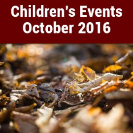 Peoples Library Children's Events – October 2016