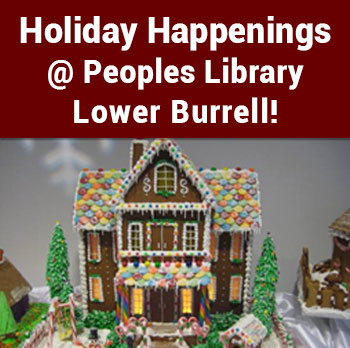 Holiday Happenings @ Peoples Library Lower Burrell!