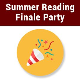 Peoples Library Summer Reading Finale Party!
