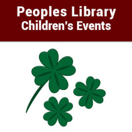 People's Library Children's Events – March