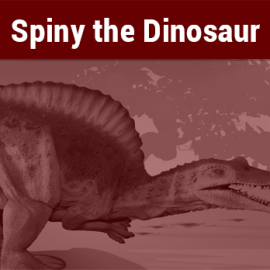 Spiny the Dinosaur @ Peoples Library New Kensington