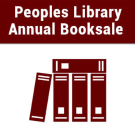Peoples Library Annual Booksale