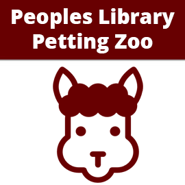 Peoples Library Petting Zoo